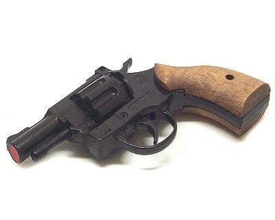 Revolver Bruni a salve Olympic 6 mm guancette in legno Top