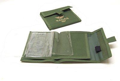 Porta licenza caccia Radar in nylon verde