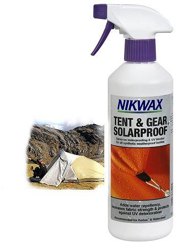Impermeabilizzante Nikwax tende Tent e gear solarproof 500 ml