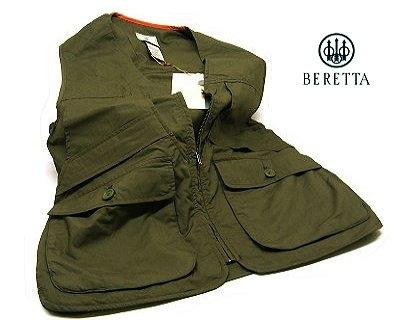 Gilet Beretta da caccia verde