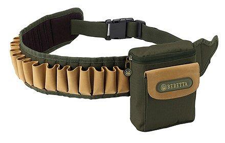 Cartuccera Beretta con borsetta nylon verde CA230001890700